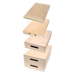 Accessorio fotografico Rialzi in legno Apple Box in 4 misure e spessori - Noleggio Attrezzature Fotografiche