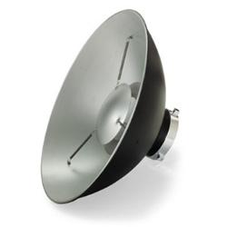 Parabola Bowens Flash Beauty Dish / Softlight argento  - Noleggio Attrezzature Fotografiche