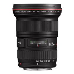 Obbiettivo originale Canon EF 16-35mm f2.8L II USM - Noleggio Attrezzature Fotografiche
