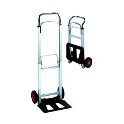 Carrello 2 ruote per trasporto luci e attrezzatura fotografica tipo Magliner - Noleggio Attrezzature Fotografiche