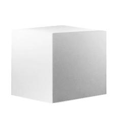 Accessorio fotografico Cubo bianco in legno in varie misure ottimo per allestimento set fotografico - Noleggio Attrezzature Fotografiche