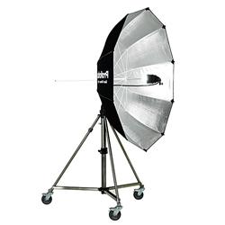 Ombrello Fotografico Gigante 240cm - Noleggio Attrezzature Fotografiche