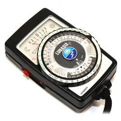 Esposimetro fotografico classico per luce artificiale, naturale e Flash Gossen Lunasix - Noleggio Attrezzature Fotografiche