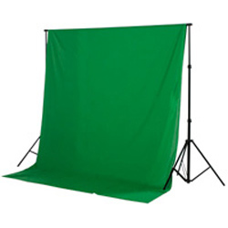 Fondale fotografico in stoffa green screen (greenscreen e bluescreen) 2,80mx7m - Noleggio Attrezzature Fotografiche