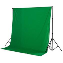 Fondale fotografico in stoffa green screen (greenscreen e bluescreen) 2,80mx7m - Noleggio Attrezzature Fotografiche