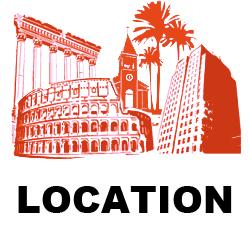 Ricerca e allestimenti di Locations esterne e al chiuso per allestimento di set fotografici e photo shoot - Noleggio Attrezzature Fotografiche