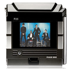 Dorso Fotografico Digitale Phase One P25 oppure P30 - Noleggio Attrezzature Fotografiche