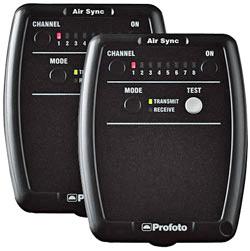 Radio trasmettitori e ricevitori per fotocamera e flash Profoto Air Sync - Noleggio Attrezzature Fotografiche