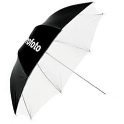 Ombrello Fotografico Bianco Argento - Noleggio Attrezzature Fotografiche