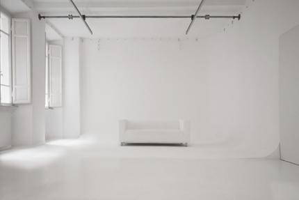 photo studio con limbo