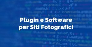 Plugin e Software per Siti Fotografici