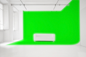 Chromakey Green Screen studio in Rome