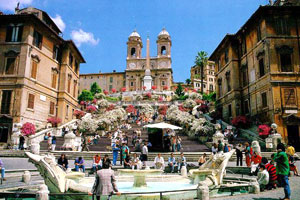 Photo & Video Location in Rome - Piazza di Spagna