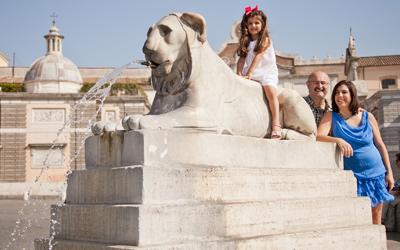 Fotografia di Famiglia a Roma