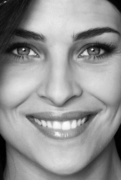Ritratto di Cristina Chiabotto. Miss Italia nel 2004