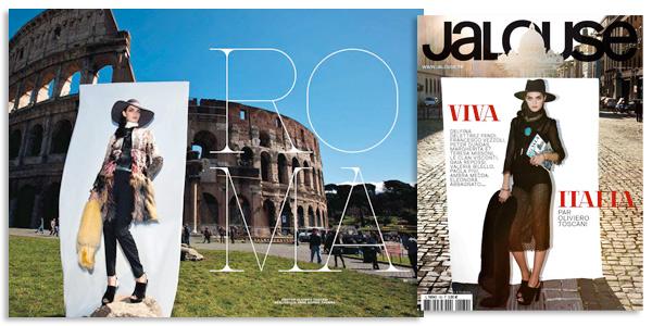 Backstage Fotografico Roma - Fotografo Oliviero Toscani per Jalouse Magazine