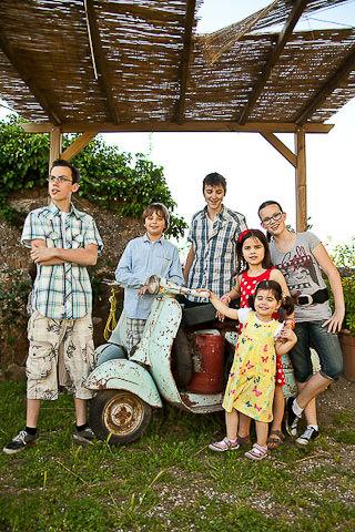 servizio fotografico personale di famiglia