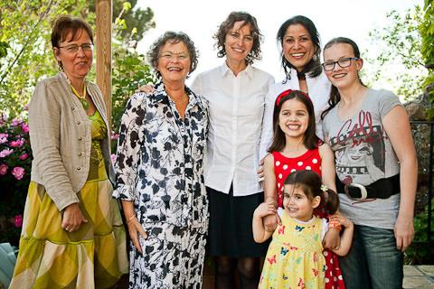 gruppo di famiglia femminile
