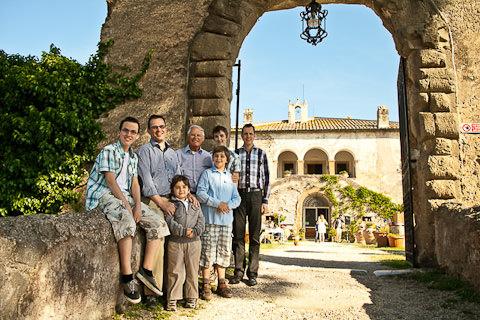 foto di gruppo per famiglia