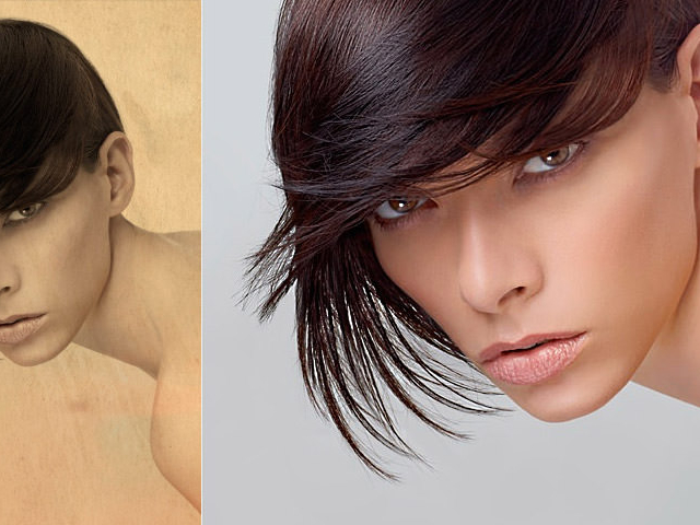 Fotografie di Beauty, Hairstyles e Moda Capelli