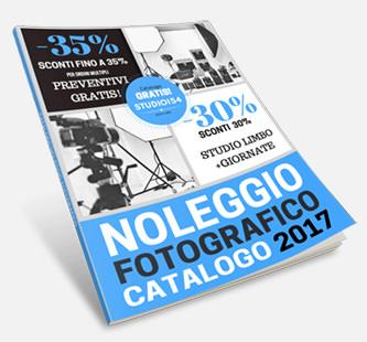 Catalogo Noleggio Fotografico 2017