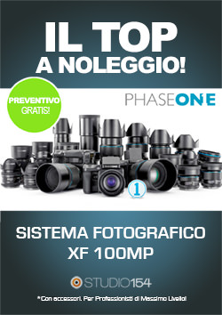 phase one sistema 100mp noleggiare a roma