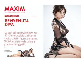 MAXIM MAGAZINE Cover Story by STUDIO154