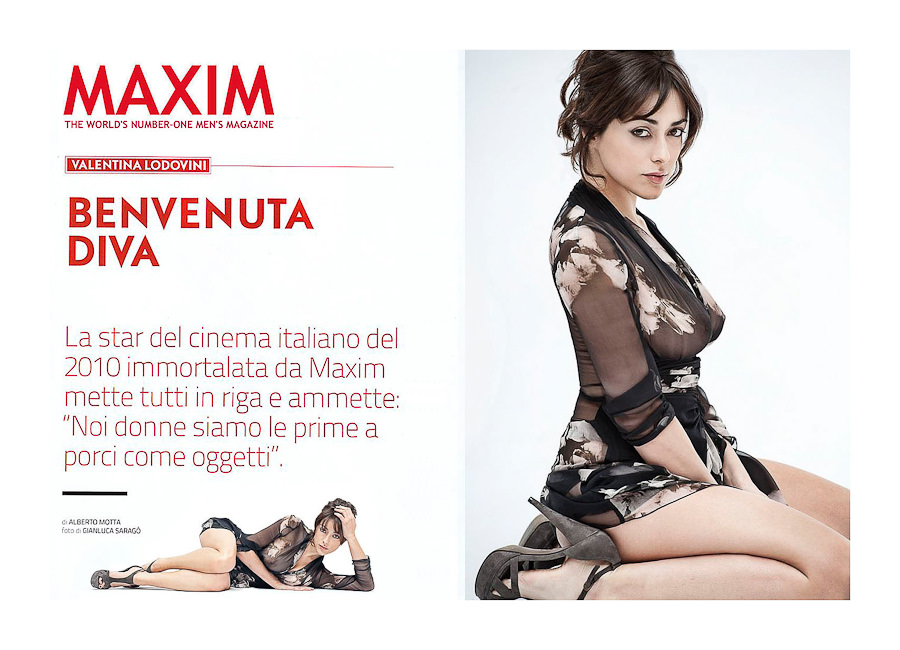 MAXIM MAGAZINE Cover Story by STUDIO154