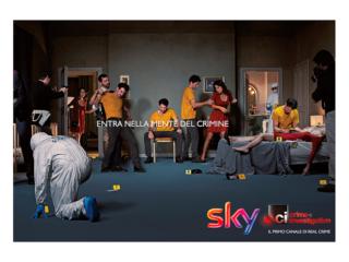 SKY TV Lancio Programma by STUDIO154