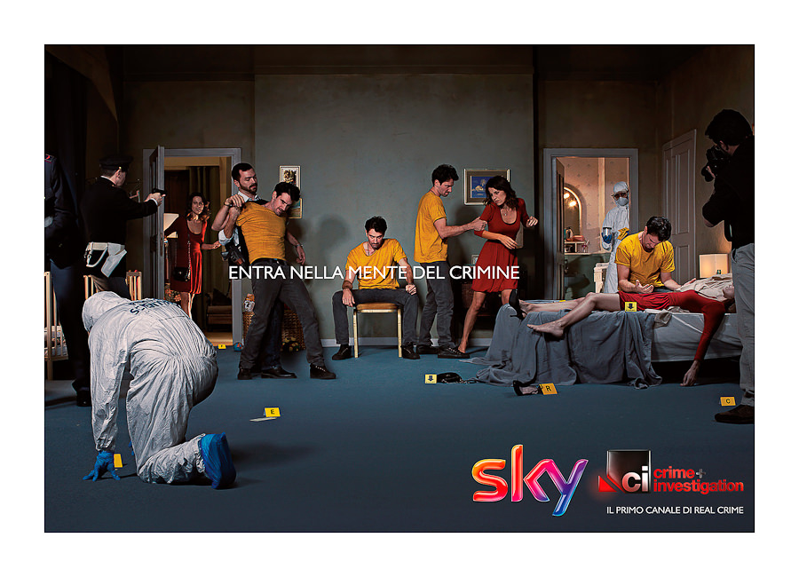 SKY TV Lancio Programma by STUDIO154