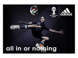 Campagna Pubblicitaria Internazionale per Adidas