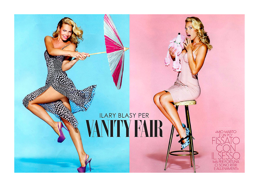 VANITY FAIR Ilary Blasi by STUDIO154