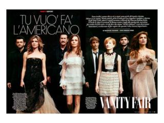 VANITY FAIR Redazionale Magazine by STUDIO154
