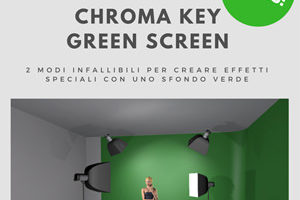 Chroma Key Green screen Photoshop Come fare