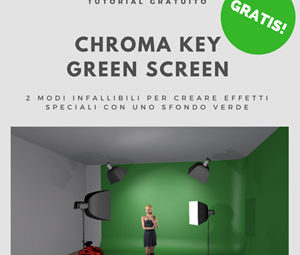 Chroma Key Green screen Photoshop Come fare