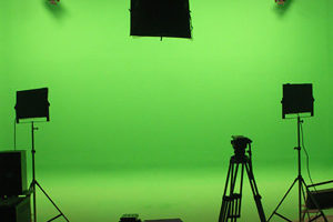 studio chromakey lampade fluorescenza