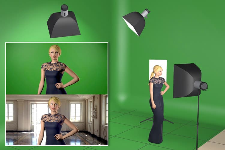 schema-di-luce-green-screen-chroma-key