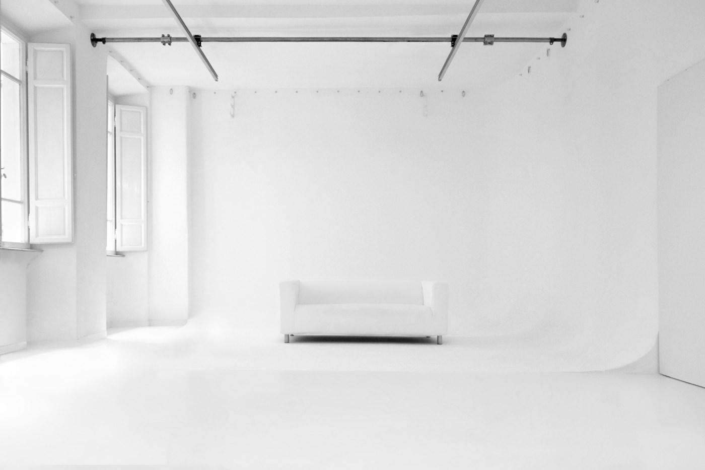 Studio Fotografico Limbo a Roma Veduta Frontale