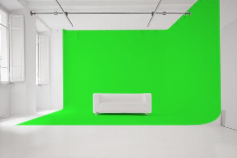 Studio Fotografico Limbo Green Screen