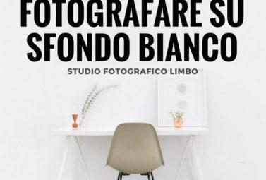 fotografare prodotti e vestiti su sfondo bianco