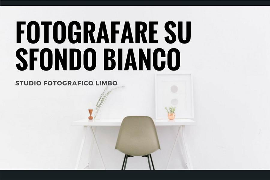 fotografare su sfondo bianco per ecommerce