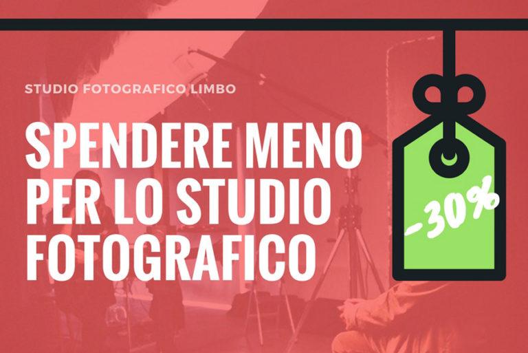 Spendere meno per lo studio fotografico