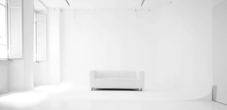 Studio Fotografico Sfondo Bianco