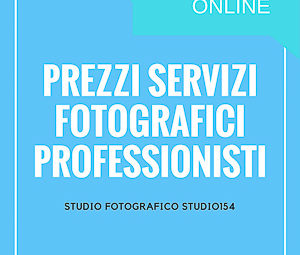 Servizi Fotografici per professionisti