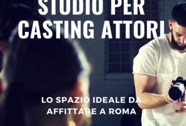 studio per casting attori e attrici