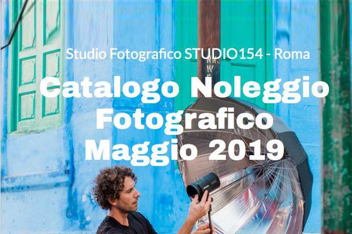 Catalogo Noleggio Fotografico aggiornato al 2019
