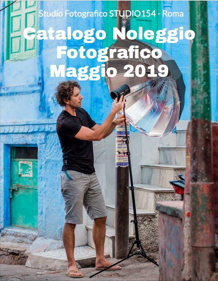 Il nuovo catalogo del noleggio per i fotografi