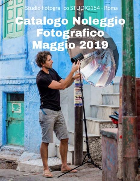 Il nuovo catalogo del noleggio fotografico di studio154 a roma
