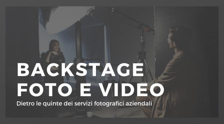 FOTO BACKSTAGE VIDEO AZIENDALI