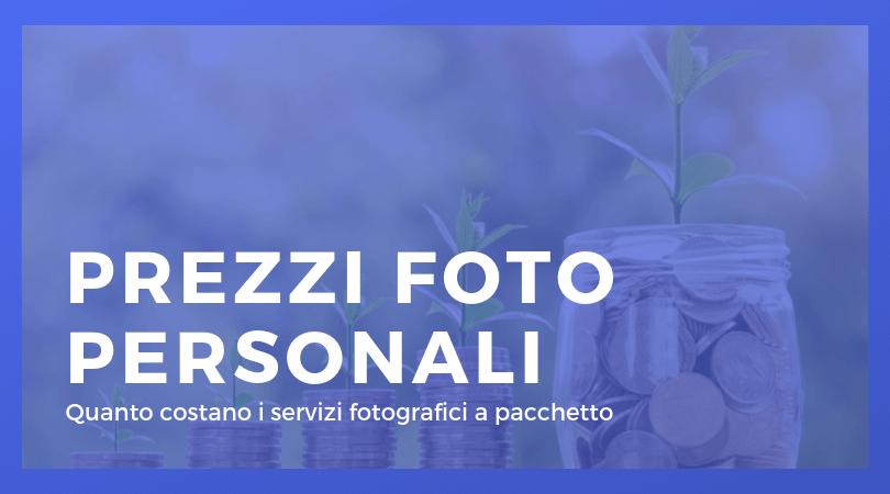 Listino Prezzi Foto Personali